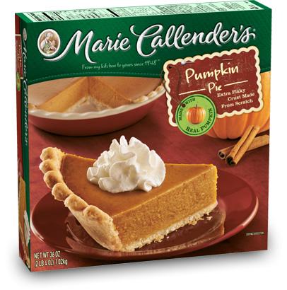 We buy Pumpkin Pie