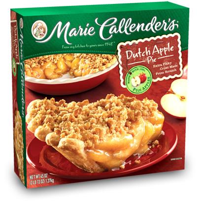 We buy apple pies